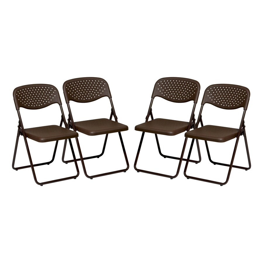 Office Star 4-Pack Standard Folding Chairs