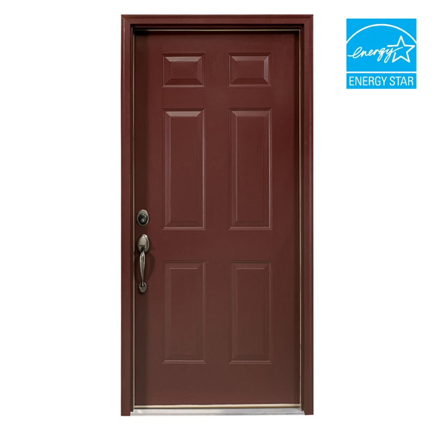 "ReliaBilt 32"" 6-Panel Steel Entry Door Unit"