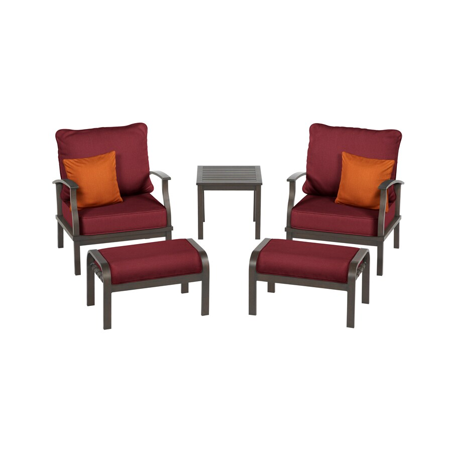 Gatewood 5-Piece Patio Conversation Set