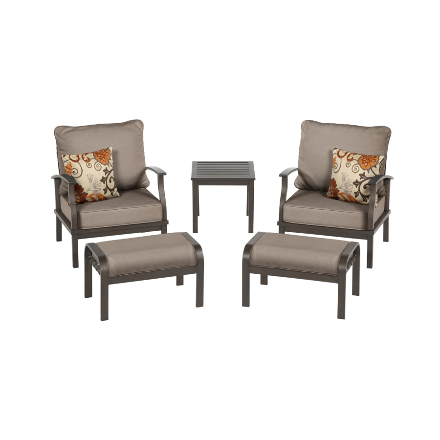 Gatewood 5-Piece Patio Conversation Set