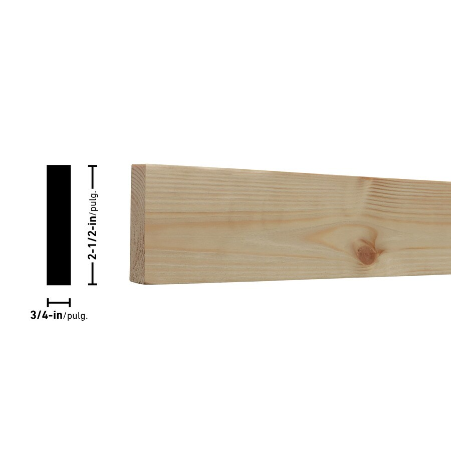 Top Choice (Common: 1-in x 3-in x 6-ft; Actual: 0.7480-in x 2.4803-in x 6-ft) Spruce Pine Fir Board