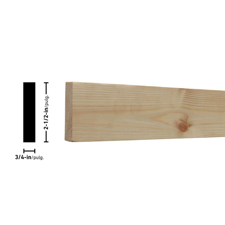 (Common: 1-in x 3-in x 8-ft; Actual: 0.7480-in x 2.4803-in x 8-ft) Spruce Pine Fir Board