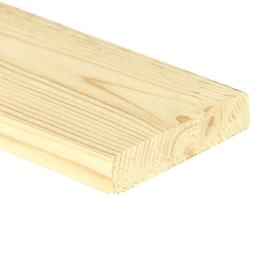 Top Choice (Common: 1-in x 4-in x 12-ft; Actual: 0.7480-in x 3.4803-in x 12-ft) Spruce Pine Fir Board