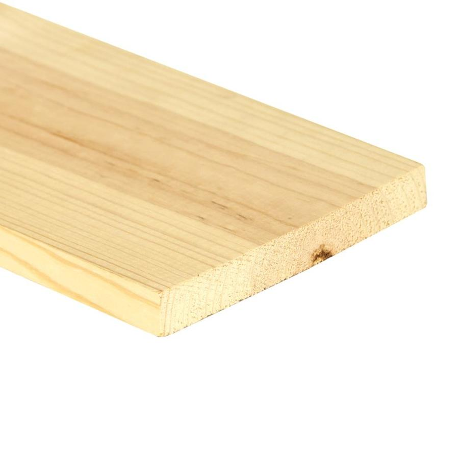 Top Choice (Common: 1-in x 6-in x 6-ft; Actual: 0.7480-in x 5.4803-in x 6-ft) Spruce Pine Fir Board