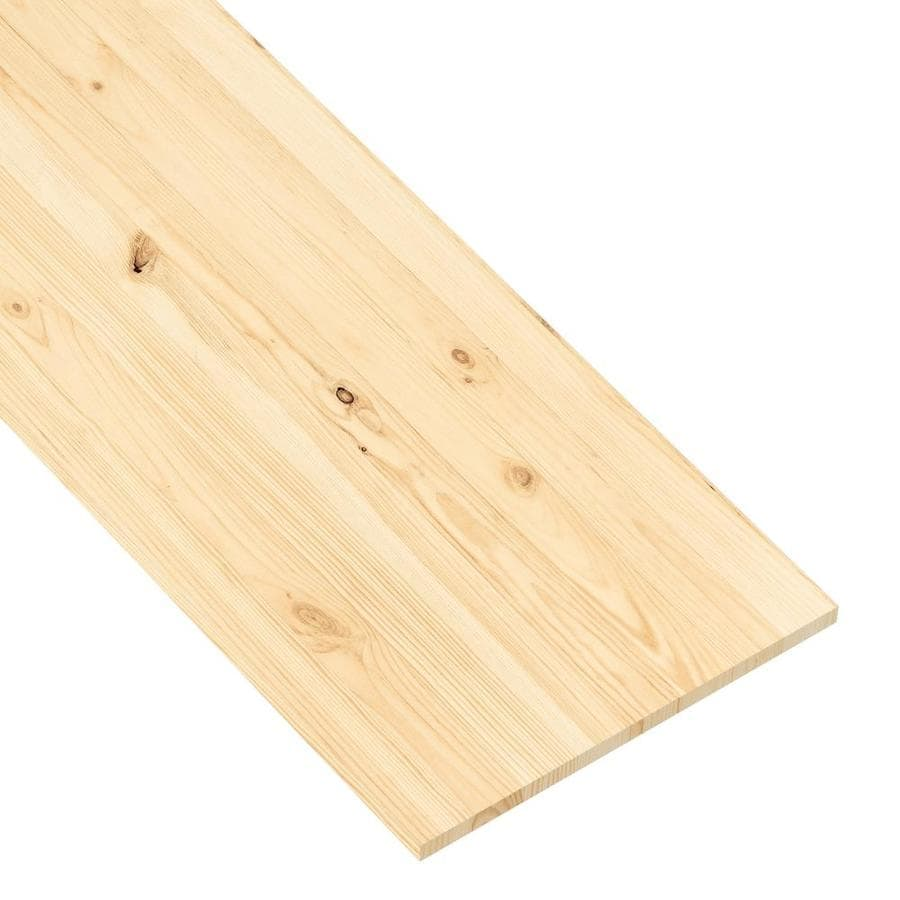 (Actual: 0.74-in x 15.98-in x 4-ft) Euro Spruce Board