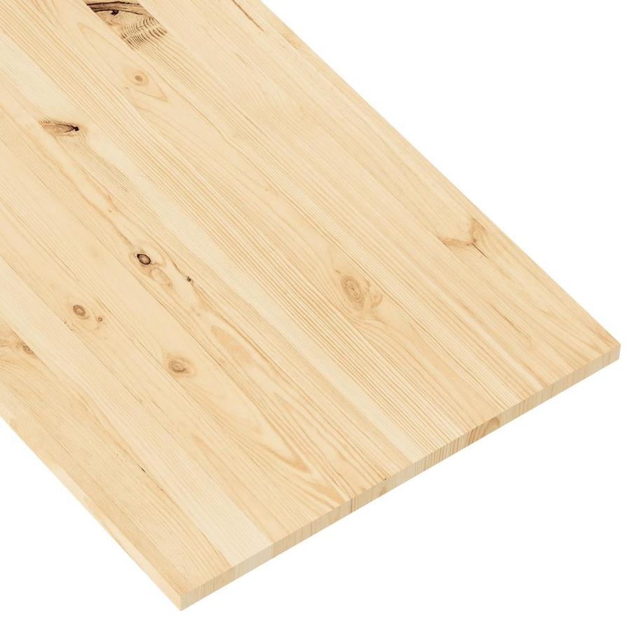 (Actual: 0.74-in x 23.98-in x 4-ft) Euro Spruce Board