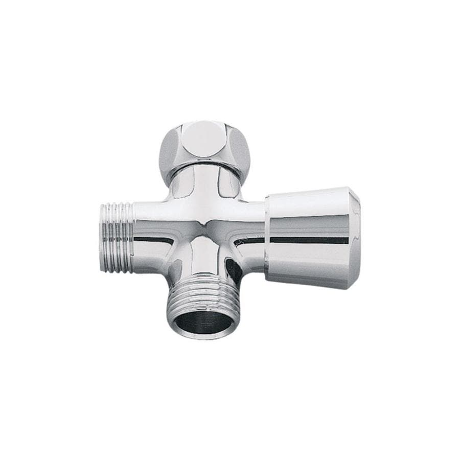 GROHE Starlight Chrome Shower Arm with Diverter