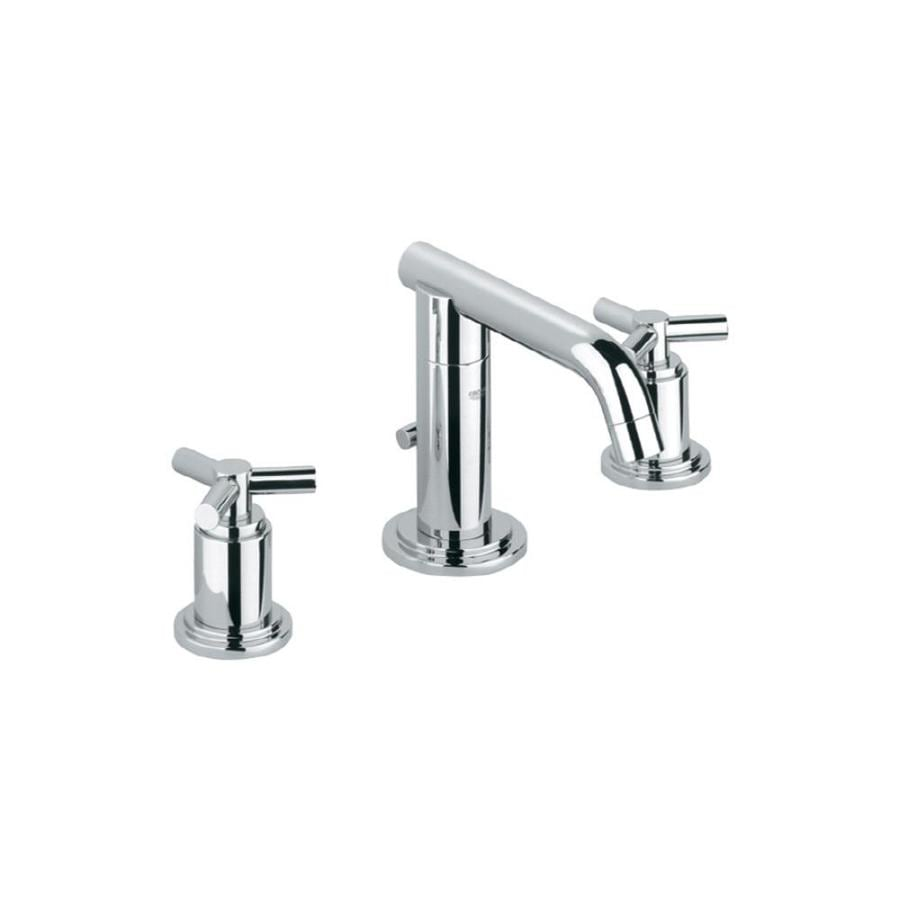 GROHE Atrio Chrome 2-Handle Widespread WaterSense Bathroom Faucet (Drain Included)