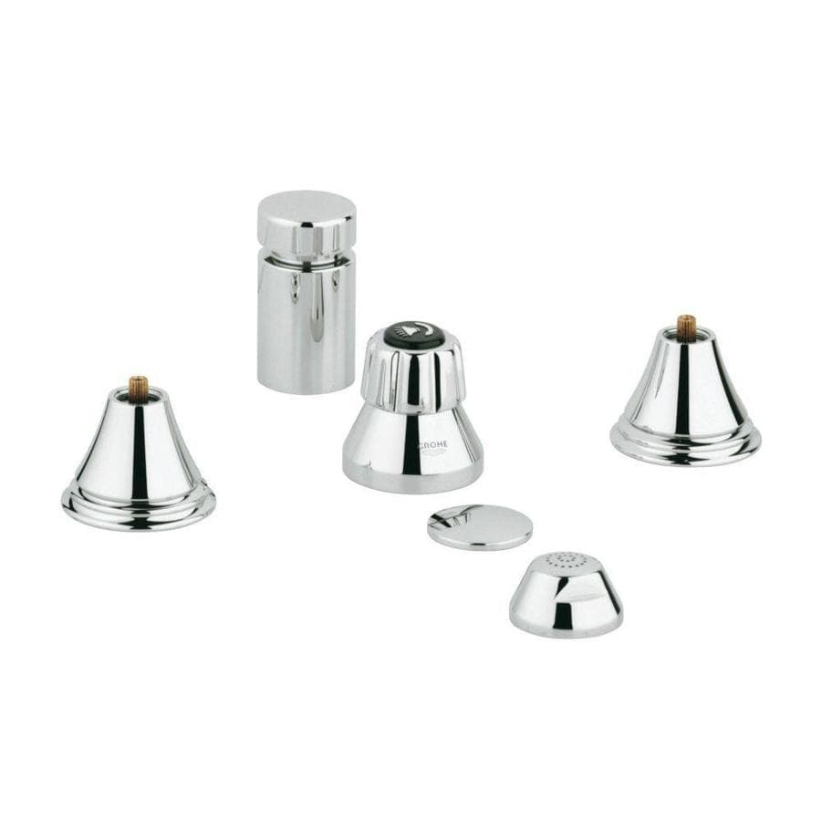GROHE Geneva Chrome Vertical Spray Bidet Faucet