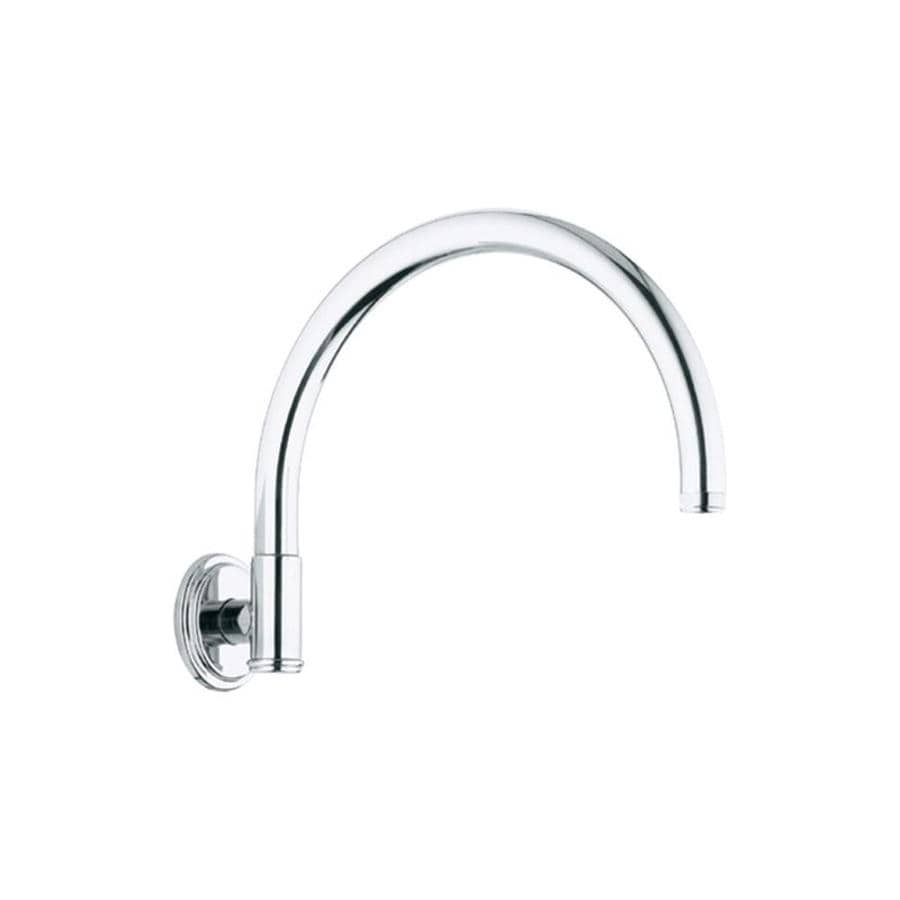 GROHE Starlight Chrome Shower Arm and Flange