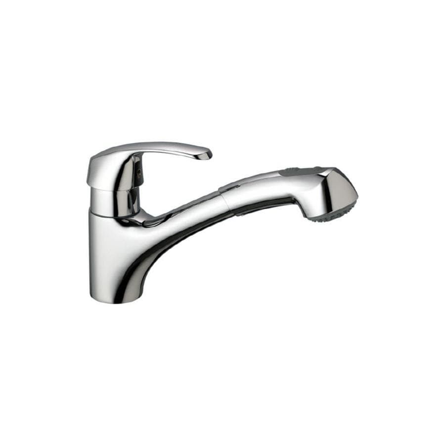 GROHE Alira Chrome 1-Handle Pull-Out Kitchen Faucet