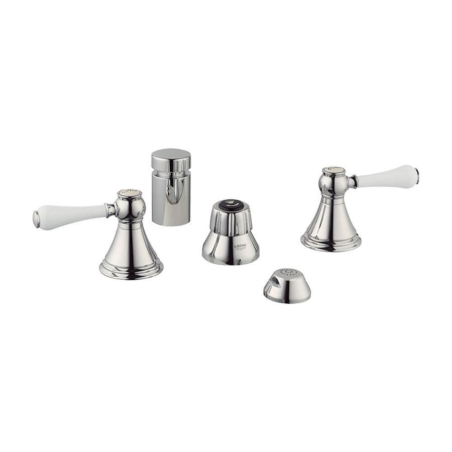 GROHE Geneva Polished Nickel Vertical Spray Bidet Faucet