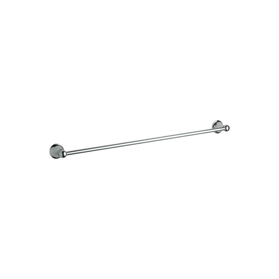 GROHE Seabury Starlight Chrome Single Towel Bar (Common: 24-in; Actual: 26.3125-in)
