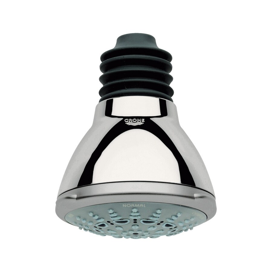 GROHE Movario 3.9375-in 2.5-GPM (9.5-LPM) Polished Nickel 5-Spray Showerhead