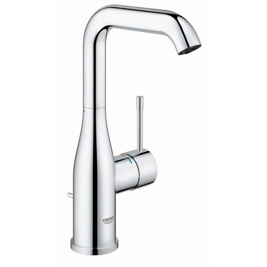 GROHE Essence Chrome 1-handle Single Hole Bathroom Faucet