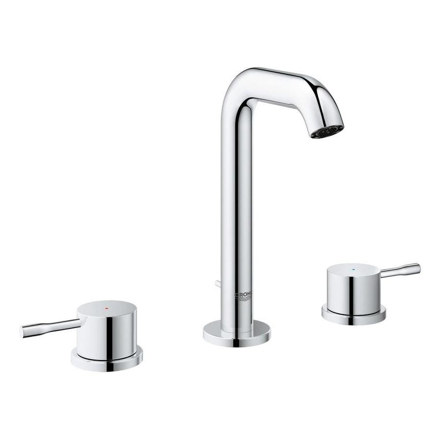 shop grohe essence chrome 2 handle widespread bathroom faucet at. Black Bedroom Furniture Sets. Home Design Ideas