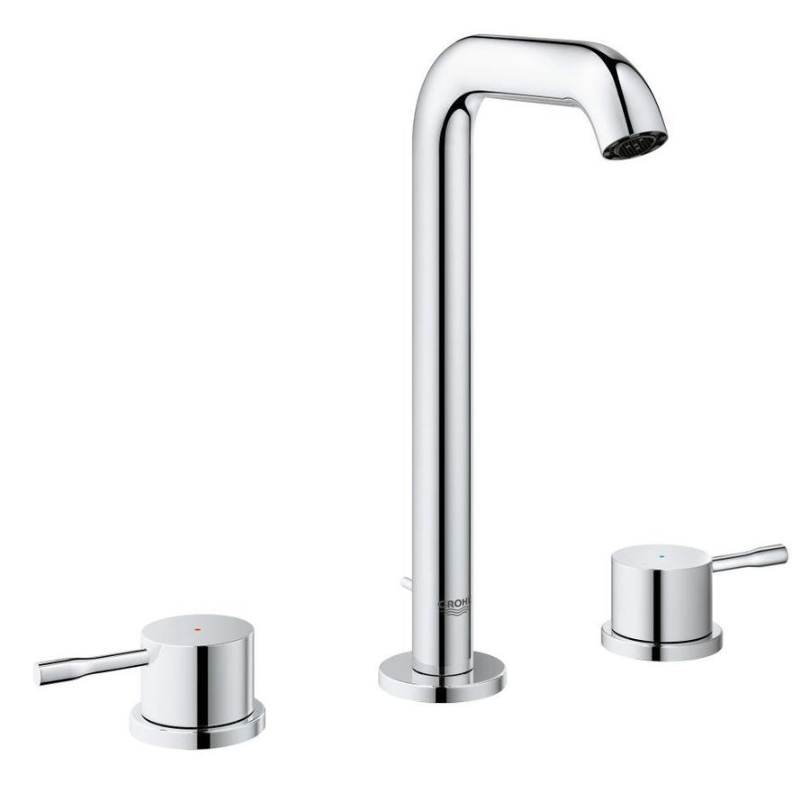 GROHE Essence Chrome 2-Handle Widespread WaterSense Bathroom Faucet (Drain Included)