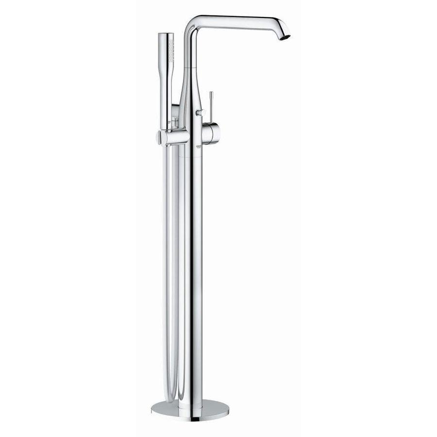 GROHE Essence Chrome 1-Handle Fixed Freestanding Bathtub Faucet