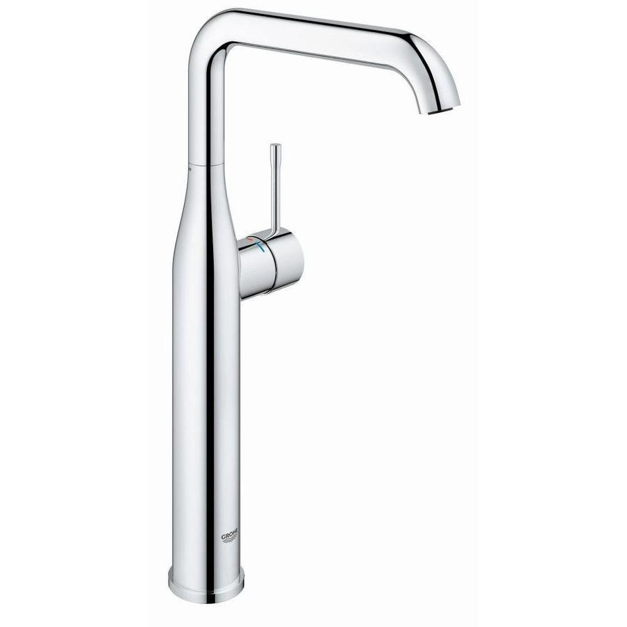 GROHE Essence Chrome 1-Handle Single Hole WaterSense Bathroom Faucet