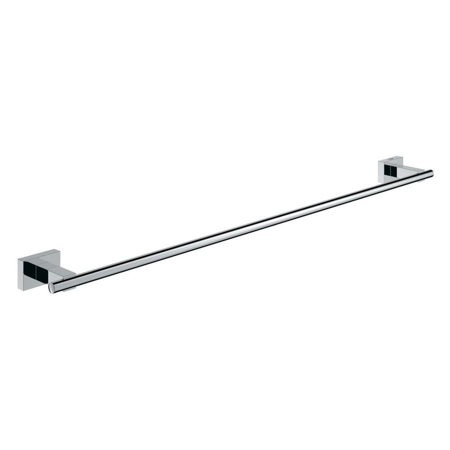 GROHE Essentials Cube Chrome Single Towel Bar (Common: 21-in; Actual: 21.9375-in)