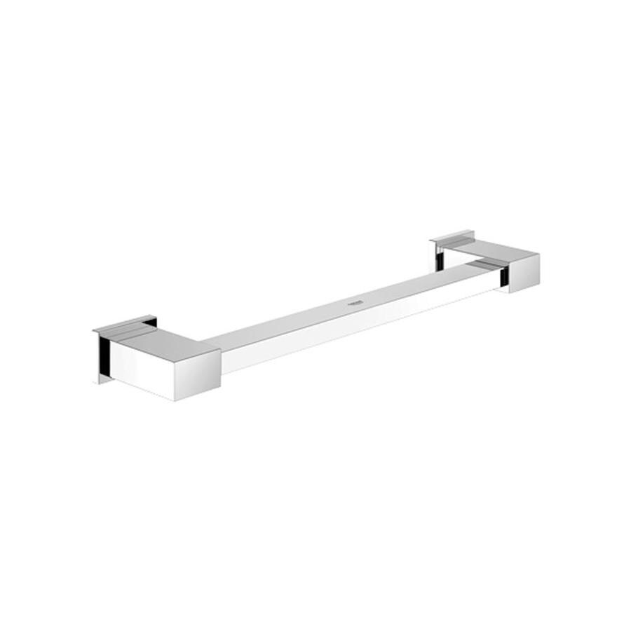 GROHE 13.39-in Chrome Wall Mount Grab Bar