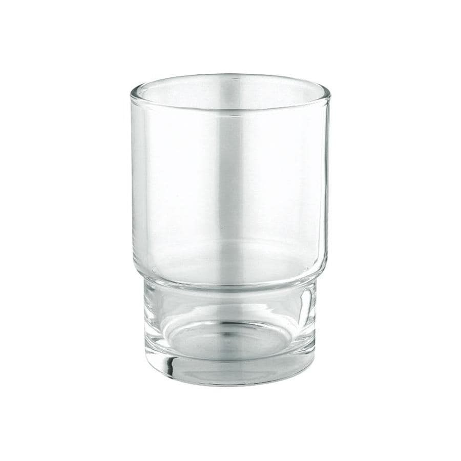 Grohe Essentials Clear Glass Tumbler At Lowes Com