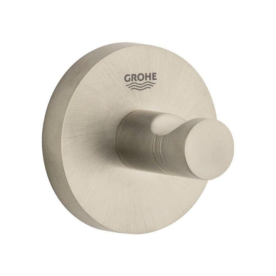 GROHE Essentials Brushed Nickel Towel Hook