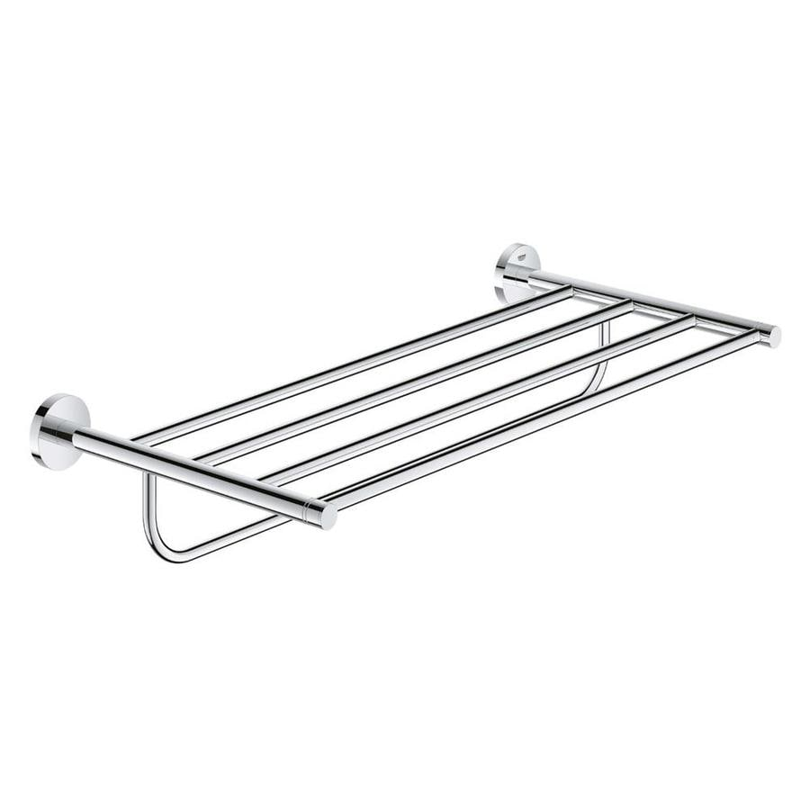 GROHE Essentials Chrome Brass Towel Rack