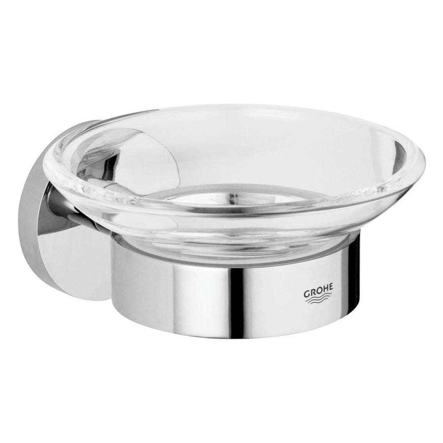 GROHE Essentials Chrome Brass Soap Dish