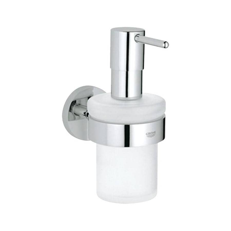GROHE Essentials Chrome Soap and Lotion Dispenser