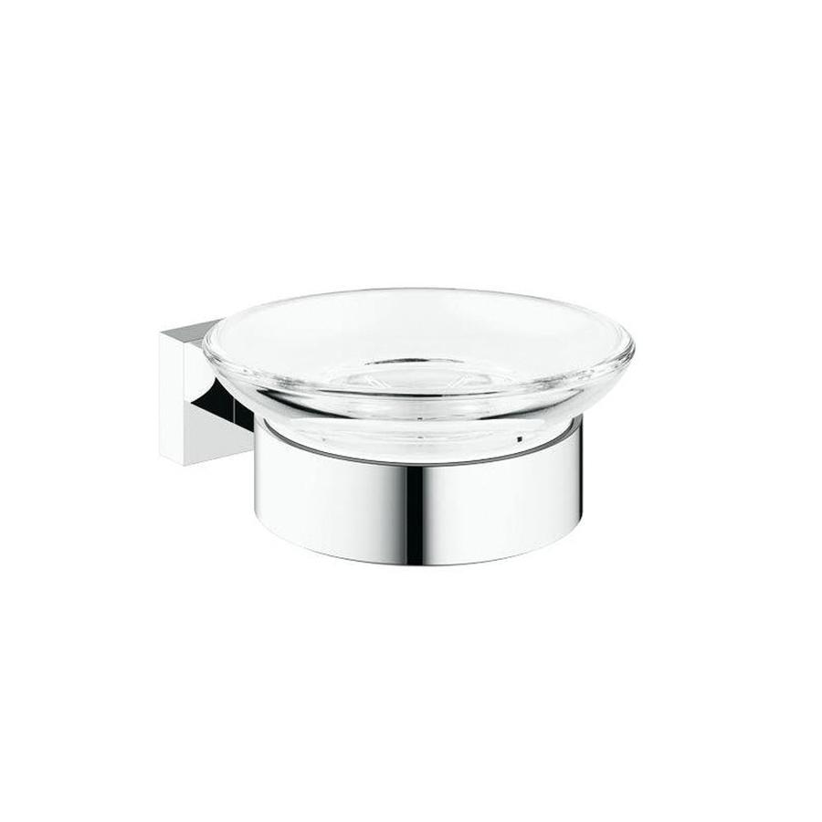 GROHE Essentials Cube Chrome Brass Soap Dish