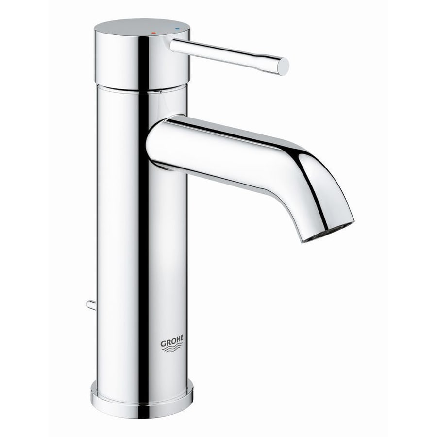 Grohe Essence Chrome 1 Handle Single Hole Bathroom Faucet
