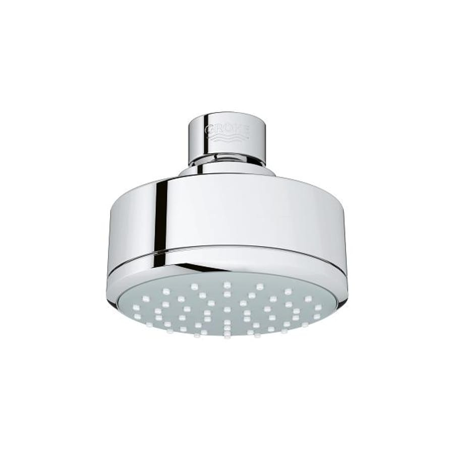 GROHE New Tempesta 4-in 2.0-GPM (7.6-LPM) Chrome WaterSense Showerhead