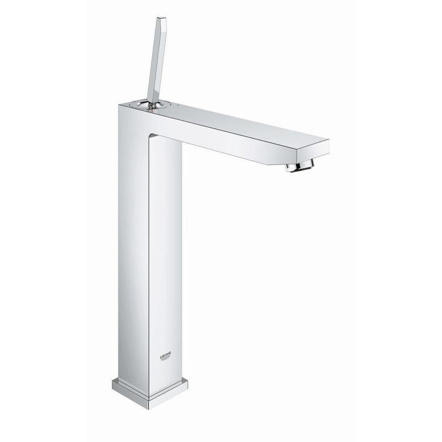 Shop Grohe Eurocube Chrome 1 Handle Single Hole Bathroom Faucet At