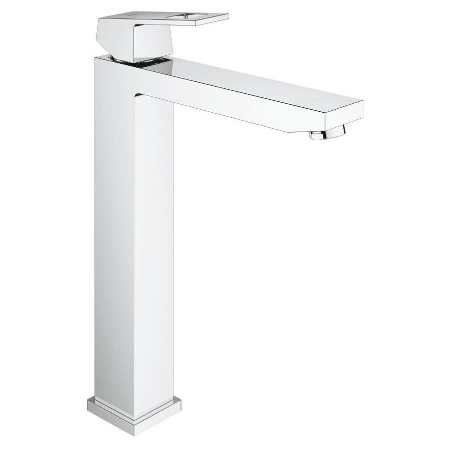 GROHE Eurocube Chrome 1-handle Single Hole Bathroom Faucet