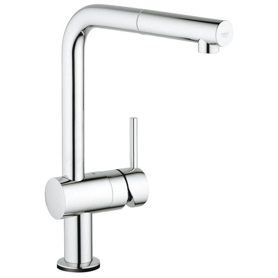 Grohe Minta Chrome 1 Handle Deck Mount Pull Out Touch Kitchen Faucet In The Kitchen Faucets Department At Lowes Com