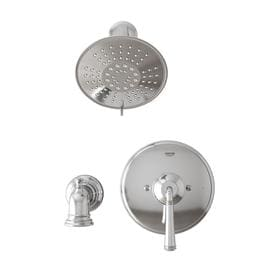 GROHE Gloucester Chrome 1-Handle Bathtub and Shower Faucet with Valve