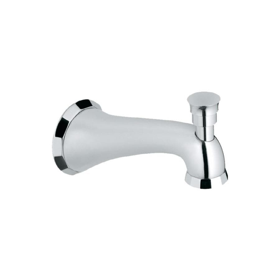 GROHE Chrome Tub Spout with Diverter