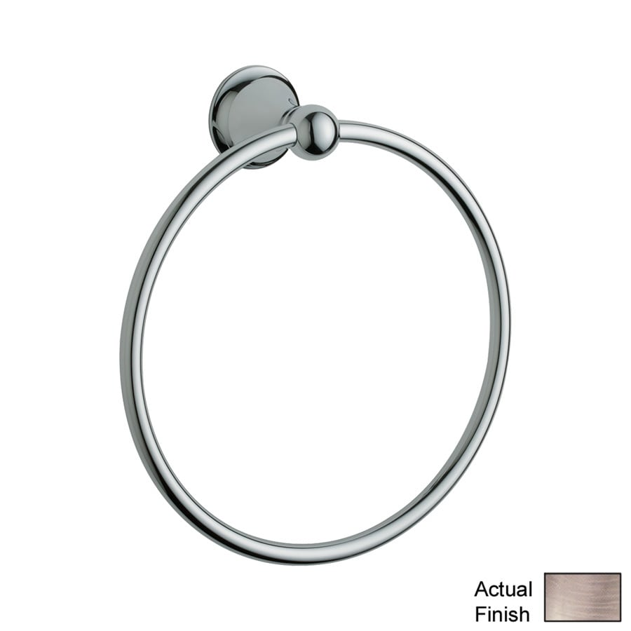 GROHE Seabury Brushed Nickel Wall Mount Towel Ring