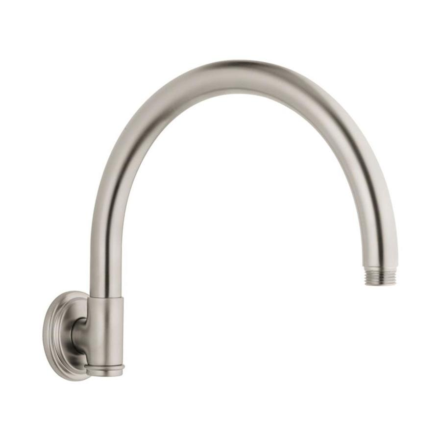 GROHE Brushed Nickel Shower Arm and Flange