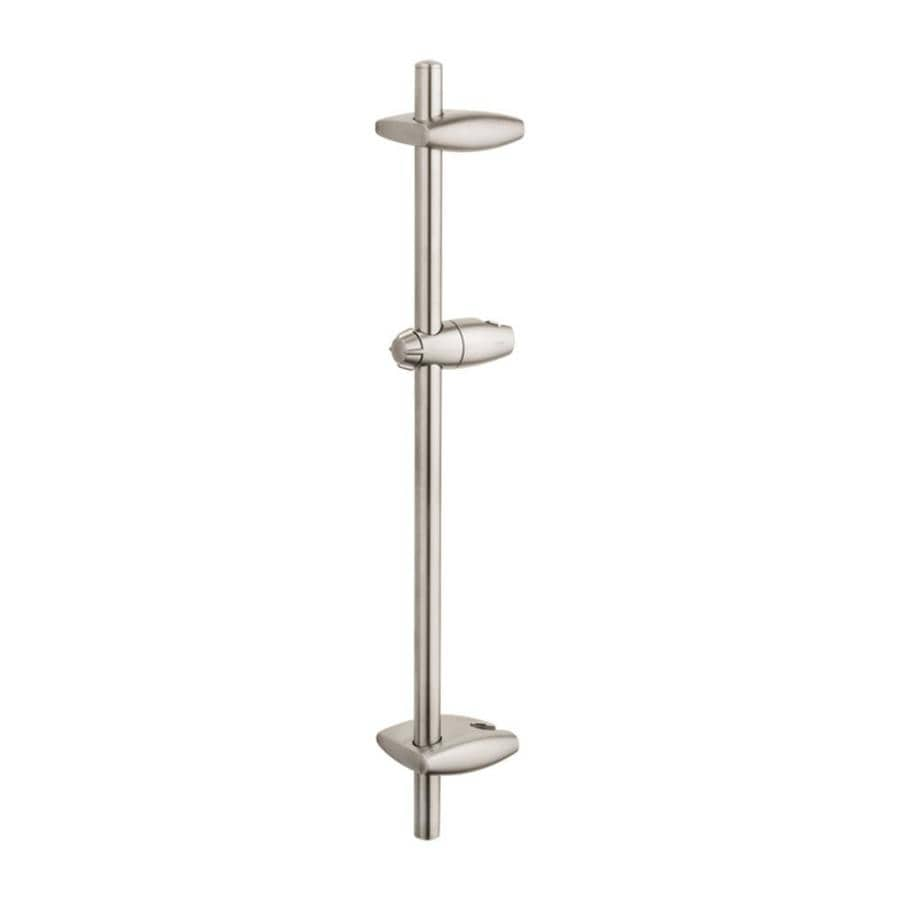 GROHE Brushed Nickel Slide Bar
