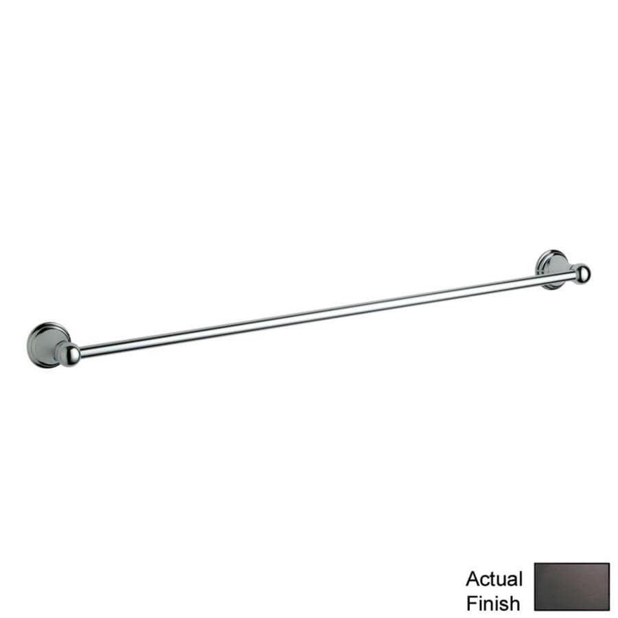 GROHE Geneva Oil Rubbed Bronze Single Towel Bar (Common: 24-in; Actual: 26.3125-in)