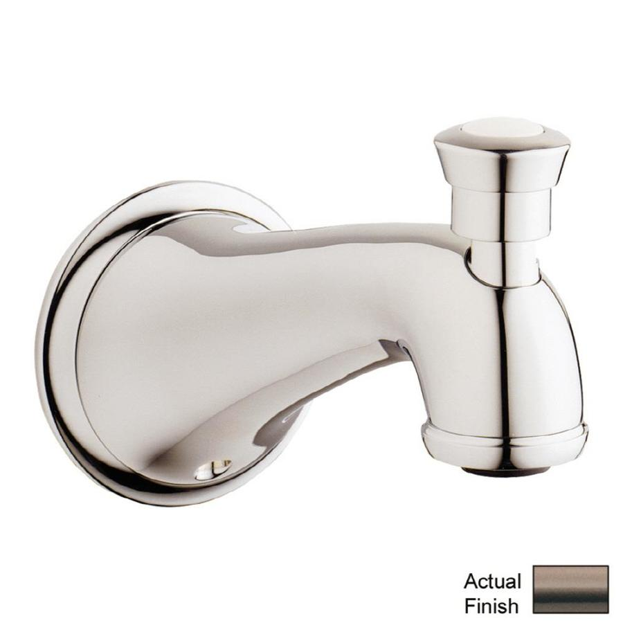 shop grohe bronze tub spout with diverter at. Black Bedroom Furniture Sets. Home Design Ideas