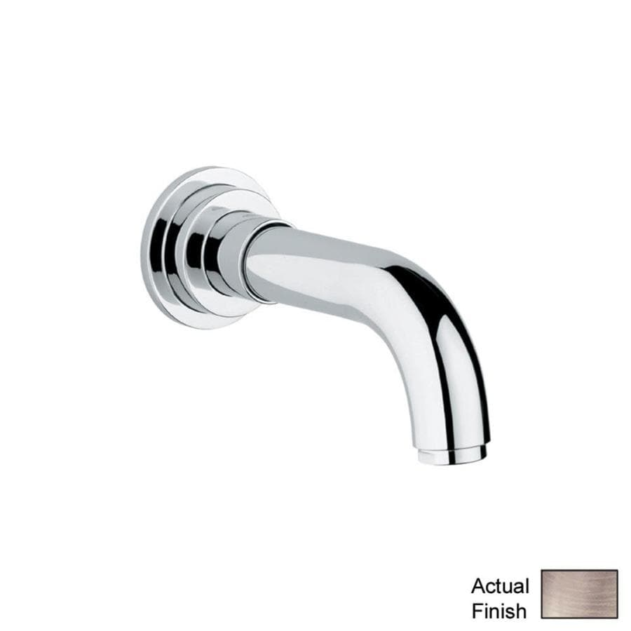 GROHE Nickel Tub Spout