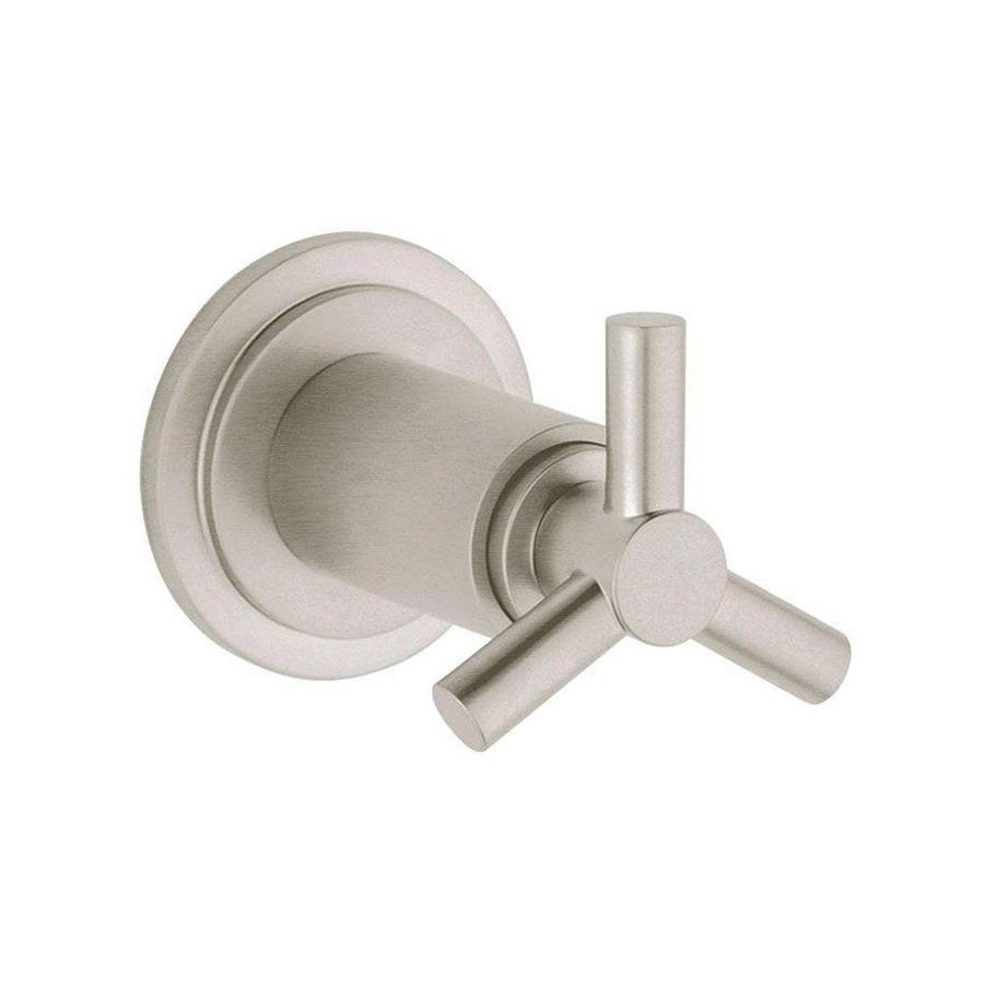 GROHE Brushed Nickel Cross Shower Handle