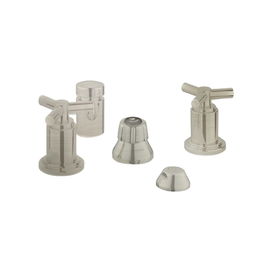 GROHE Atrio Brushed Nickel Vertical Spray Bidet Faucet