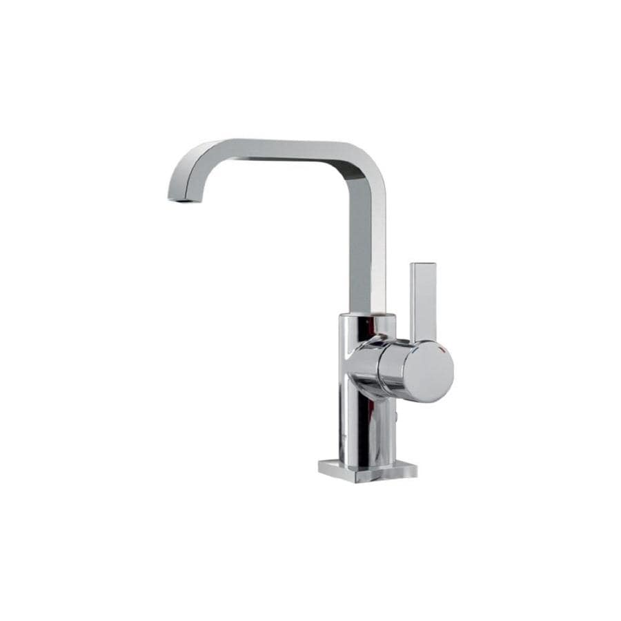GROHE Allure Chrome 1-Handle Single Hole WaterSense Bathroom Faucet (Drain Included)