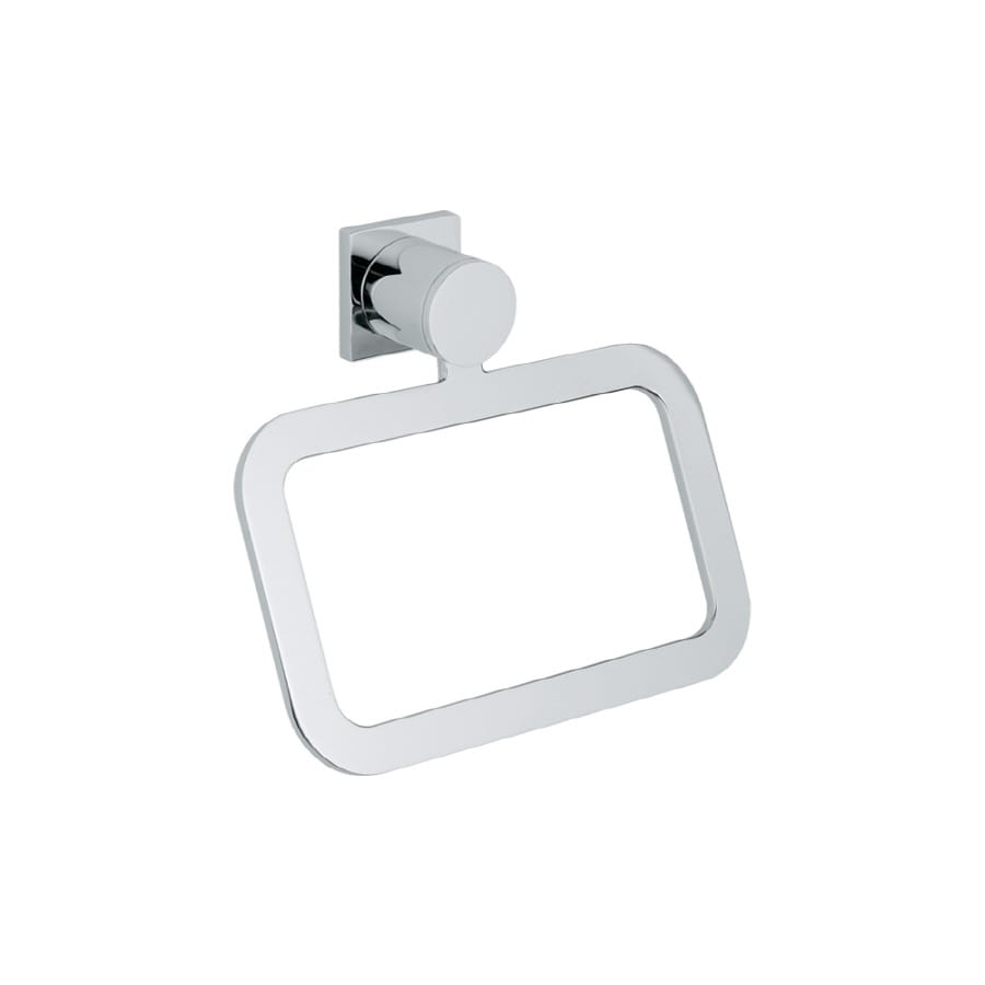GROHE Allure Chrome Wall-Mount Towel Ring