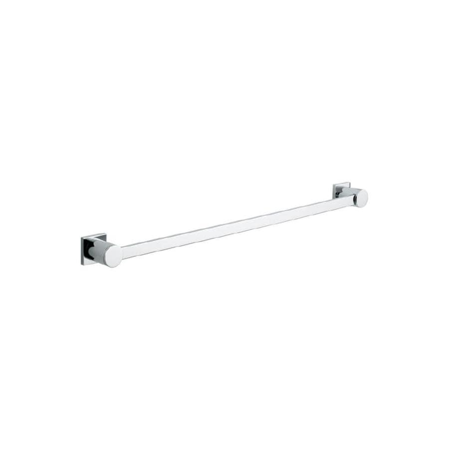 GROHE Allure Chrome Single Towel Bar (Common: 24-in; Actual: 25.438-in)