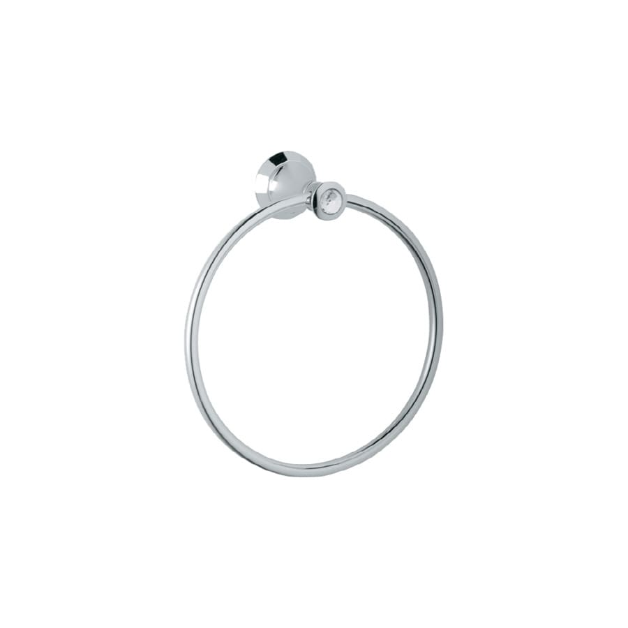 GROHE Kensington Chrome Wall-Mount Towel Ring